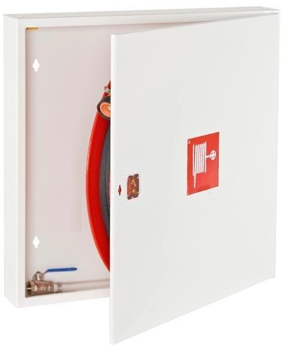 Slangeskab BS60 isoleret til indbygning i brandvæg