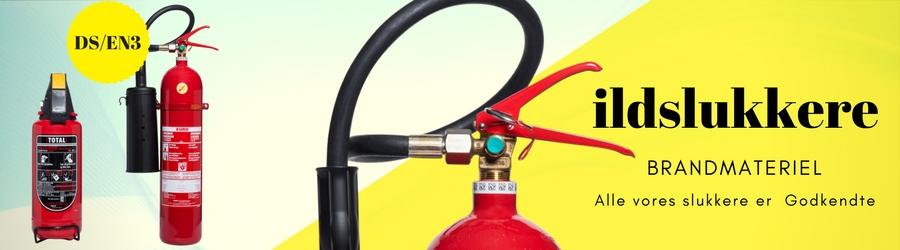 Sensationelle Ildslukkere - Brandslukkere | Godkendt | Hurtig levering | Prisgaranti TN91